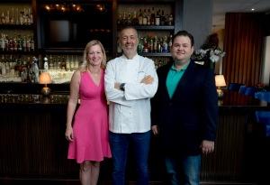 GFLFW_Kate Reed, Chef Angelo Elia and Phil Marrow 2